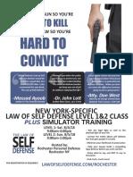 Law of Self Defense NY 180804