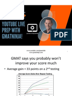 GMAT Ninja Becoming Your Own GMAT Tutor 2.14.18