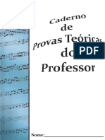 Provas Teoricas 2016 Do Professor