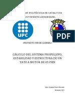 Proyecto Del Cálculo Del Sistema Propulsivo, Estabilidad y Estructura de Un Yate de 65 Pies