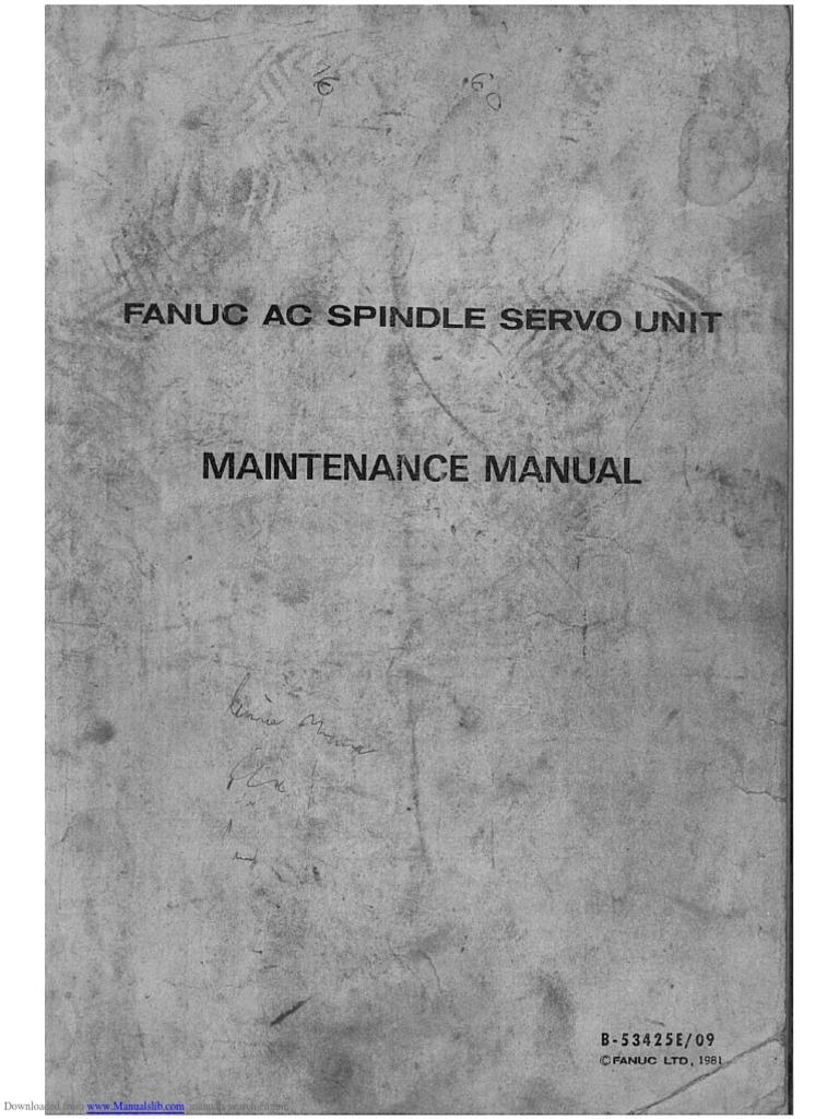 fanuc ac spindle servo unit 2 fuse electrical printed circuit rh fr scribd com Simple DC Motor 4 Wire DC Motor Diagram