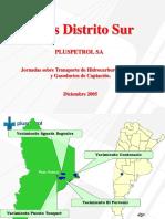 Pluspetrol SA - Areas Distrito Sur