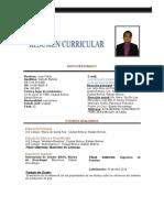 Curriculum Vitae - Juan Galindo