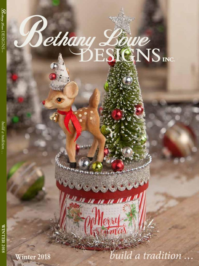 Bethany Lowe Christmas Ornaments.Holiday Seasonal Ornaments Vintage Style Bethany Lowe