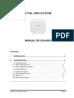 Zyxel Vmg1312 b10b Manual