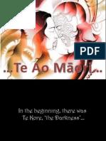 Te Ao Maori Booklet