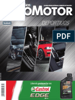Revista Puro Motor Autos Deportivos 2018 #63 Enero-Febrero 2018