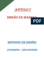 Capitulo v- Diseño en Madera