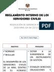 Reglamento Interno de Los Servidores Civiles