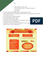 Reglas de La Dieta Scardale