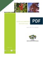 Espécies Arbóreas Indígenas Em Portugal Continental - Guia de Utilização