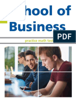 Centennial College Business Mathematics Practice Test