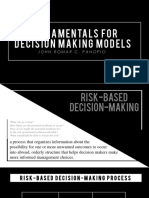 Fundamentals for Decision Making Process PPT