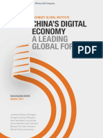 Chinas Digital EconomyDiscussion PaperAugust112017
