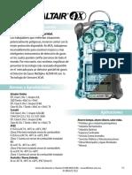 Altair 4x Especificaciones Tecnicas