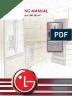 LG Training Manual Fridge_ LMX21981_4Door_Fall08