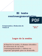 9A-ZZ04 El texto contraargumentativo 2017-2 (diapositivas).ppt