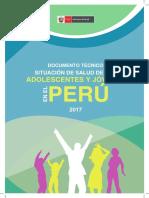 Minsa - Situacion de La Salud en El Adolescente 2017