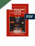 Borel Emile - Las Probabilidades Y La Vida