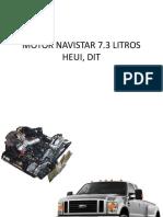 MOTOR NAVISTAR 7.3 litros