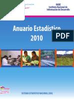 Nicaragua - Anuario2010