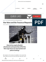 Star Wars and the Trauma of Repeating History
