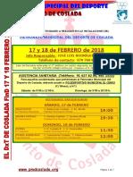 DEPORTE | El DXT de Coslada. 17 y 18 Febrero 2018