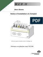 MCD II Centora,Calydra Delta-notice d'Installation Et d'Empl