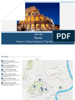 Rome Rome in 3 Days Itinerary of Top Attractions 2017 10-30-09!05!08