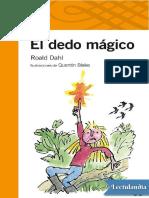 El dedo magico - Roald Dahl.pdf