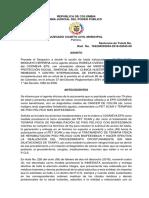 Clara Elisa Moncayo vs Coomeva Eps
