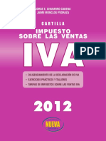 Cartilla IVA 2012