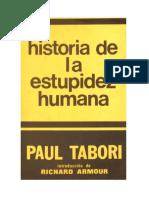 Tabori Paul - Historia De La Estupidez Humana.rtf