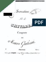 Giuliani Mauro Tre Sonatine