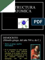 ESTRUCTURA ATOMICA -ELECTRONICA-2010