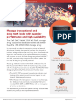 Manage transactional and data mart loads with superior performance and high availability