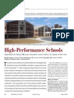 High Performance Schools