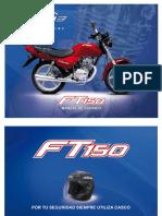 MANUAL USUARIO ITALITA FT 150 CC