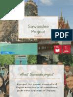 Sawasdee Project Winter Peak Reception Booklet Finale