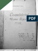 497 Bomb Group, Mission Report 85, Isesaki, August 15, 1945