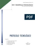 2.2.4 Protocolo Tecnológico