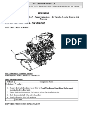 2014 Chevy Traverse Engine Diagram - All Wiring Diagram