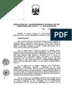 DIRECTIVA N° 05 -2013-SUNARP-SN (Directiva que regula la Inscripción de los actos y derechos de las Comunidades Nativas)