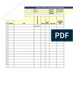 JoslocTechnical Support Sheet