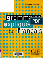 Grammaire expliquée -Partie1