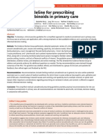 Simplified guideline for prescribing medical cannabinoids in primary care