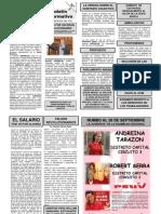 PERIODICO DEL SINDICATO BOLIVARIANO DE LA ASAMBLEA NACIONAL UNTRAELAN Nº 3
