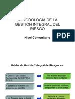 7.Metodología Gestión Integral Del Riesgo Local