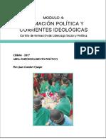 Formacion politica modulo 4