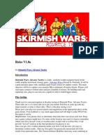 Skirmish Wars - Rules V1.0a